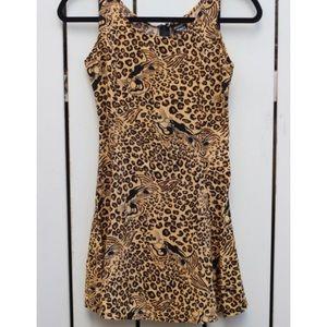 90's Leopard Vintage Sundress